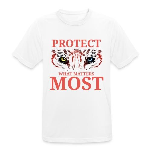 T.Finnikin Designs - Protect - Men's Breathable T-Shirt
