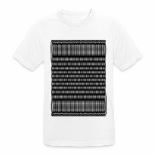 Moire III [Noir] - T-shirt respirant Homme