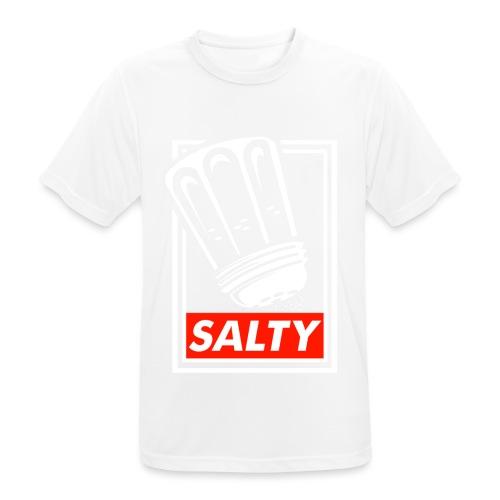 Salty white - Men's Breathable T-Shirt