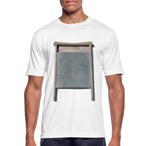 Vaskebræt - sixpack - Herre T-shirt svedtransporterende