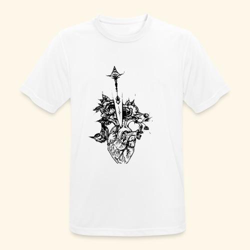 la nature du coeur - T-shirt respirant Homme