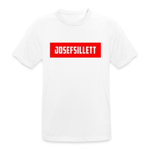Josef Sillett Red - Men's Breathable T-Shirt