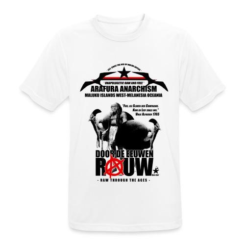 Arafura Anarchism - Mannen T-shirt ademend actief