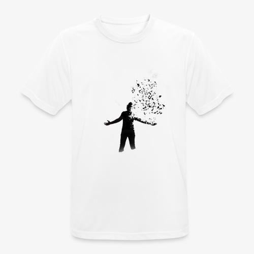 Coming apart. - Men's Breathable T-Shirt