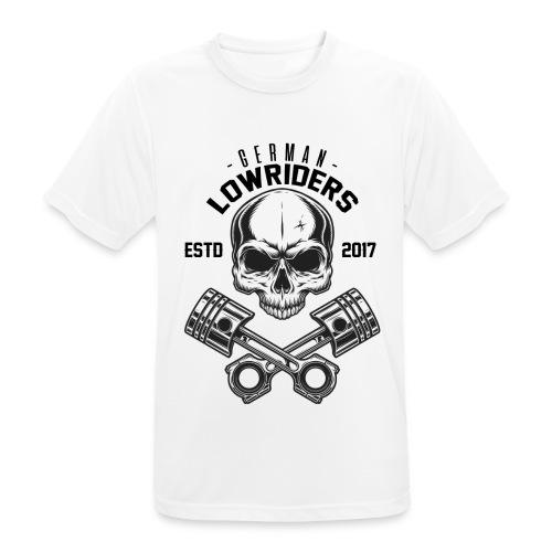 LOWRIDERS SKULL - Männer T-Shirt atmungsaktiv