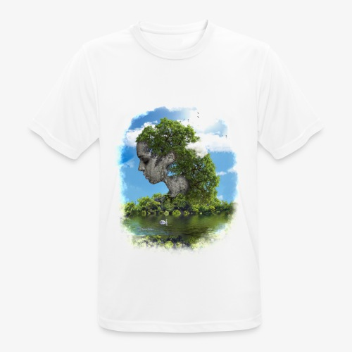Land of Id - Andningsaktiv T-shirt herr