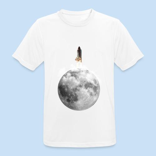 Mondrakete - Männer T-Shirt atmungsaktiv