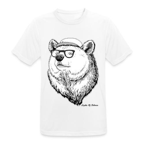Lights Of Siberia - Men's Breathable T-Shirt