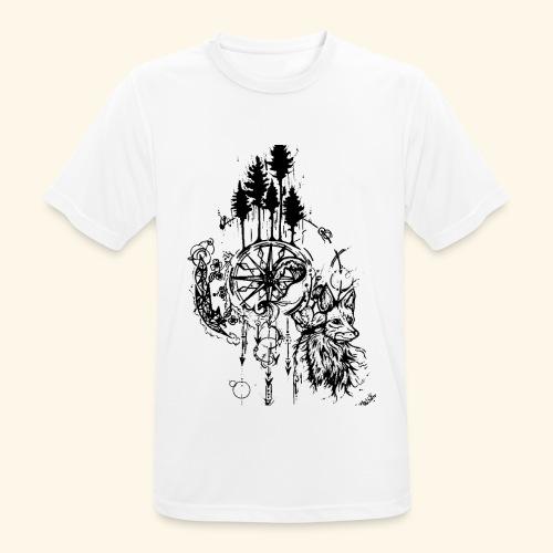 renard nature - T-shirt respirant Homme