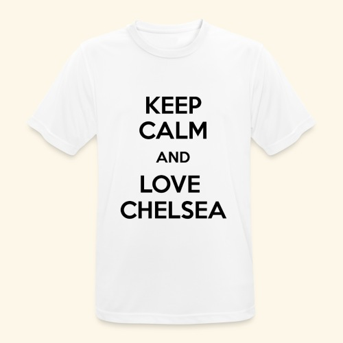 keep calm and love chelsea - Men's Breathable T-Shirt