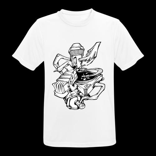 The Real HipHop Elements - Männer T-Shirt atmungsaktiv
