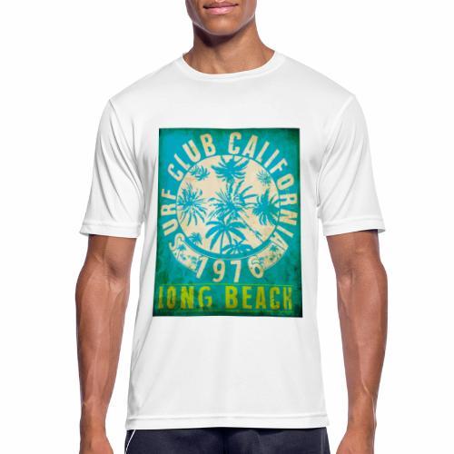 Long Beach Surf Club California 1976 Gift Idea - Men's Breathable T-Shirt