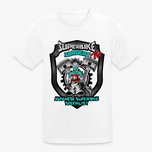 Superbike Surgery TV - Men's Breathable T-Shirt