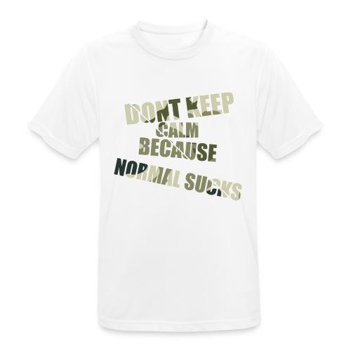 Normal sucks moro - Koszulka męska oddychająca