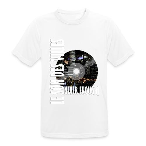 Le Son Des Villes : World Vinyl - T-shirt respirant Homme