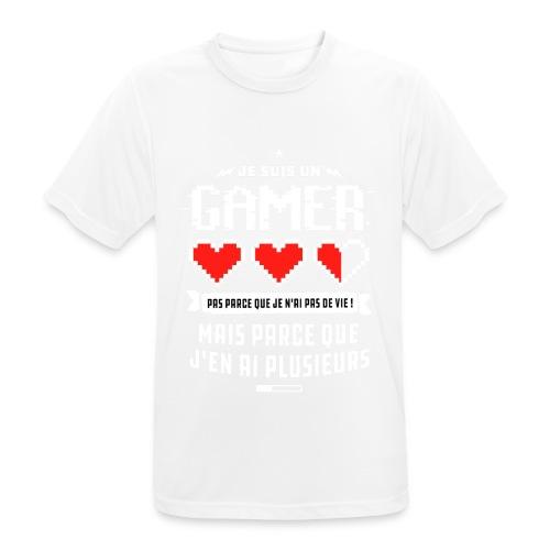 T-shirt Gamer - T-shirt respirant Homme