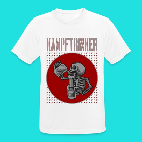 Kampftrinker - Männer T-Shirt atmungsaktiv