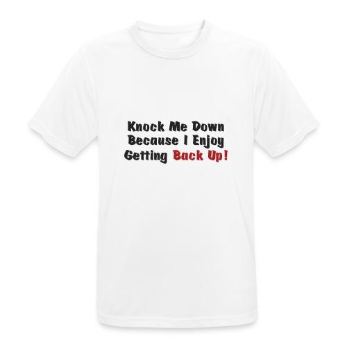 Knock me down - Men's Breathable T-Shirt