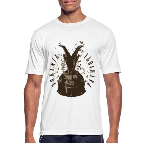 Patrioti Vintage Skenderbeg - Männer T-Shirt atmungsaktiv