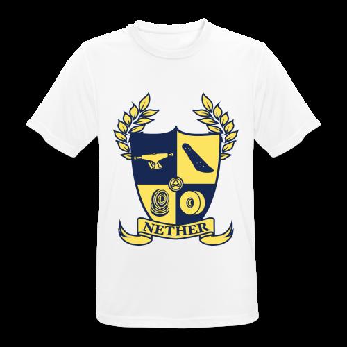 Nether College T-Shirt - Maglietta da uomo traspirante