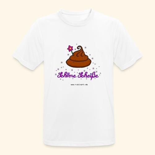 Schöne Scheiße Kacke - Männer T-Shirt atmungsaktiv