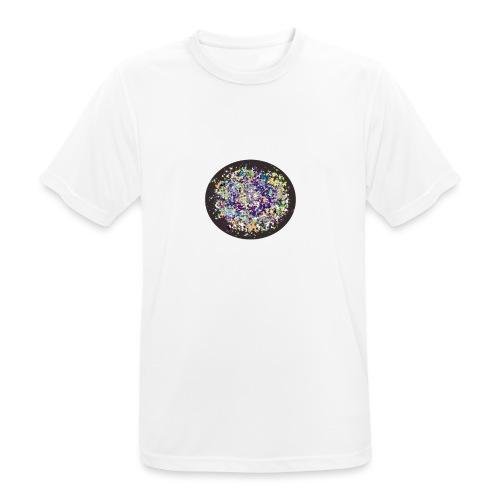 bola de color - Camiseta hombre transpirable