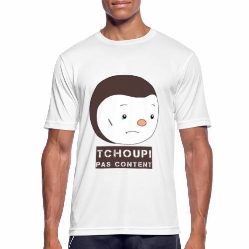 Tchoupi pas content ! - T-shirt respirant Homme