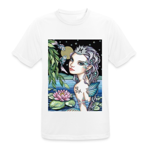 Pisces girl Fische Mädchen - Men's Breathable T-Shirt