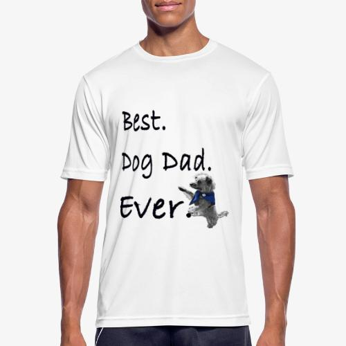 Father's Day Dog Dad T Shirt Perfect Gift Tee - Men's Breathable T-Shirt