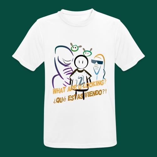 Que estas mirando? - Camiseta hombre transpirable