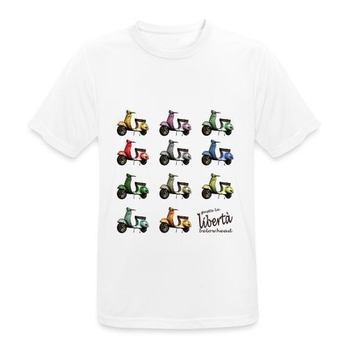 ♂ BIO-SHIRT: gusta la libertà - Männer T-Shirt atmungsaktiv