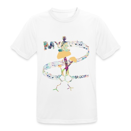 My Psilocybin (Light) - Andningsaktiv T-shirt herr