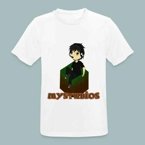 Mystudios Stylo - Männer T-Shirt atmungsaktiv