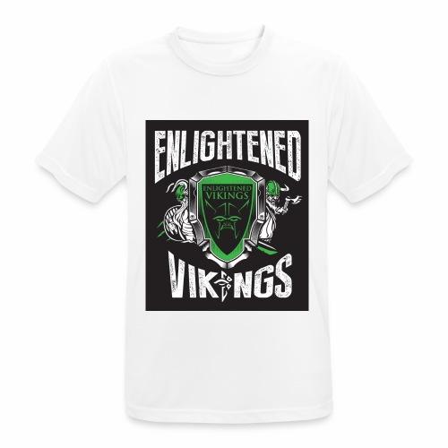 Enlightend Vikings - Pustende T-skjorte for menn