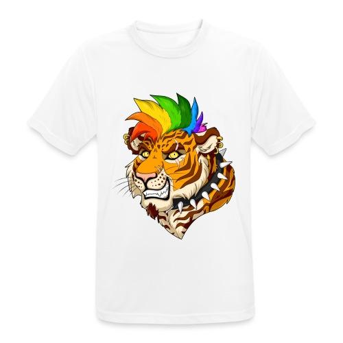 Punk Tiger - Koszulka męska oddychająca