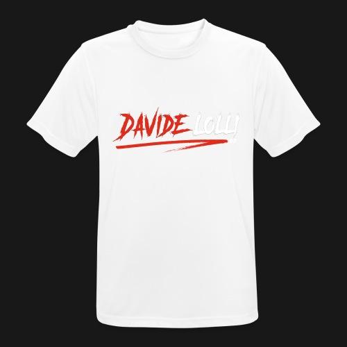 DavideLolli97 Official - Maglietta da uomo traspirante