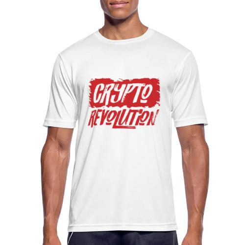 Crypto Revolution - Men's Breathable T-Shirt
