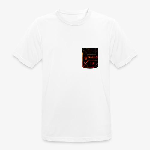 Mathe Physik Wissenschaft Lehrer Pocket Design - Männer T-Shirt atmungsaktiv