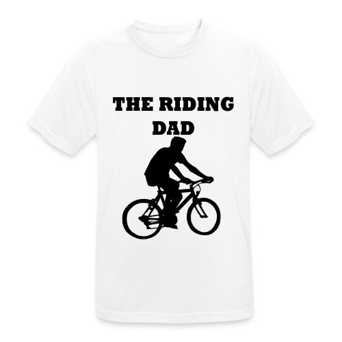 The riding dad T-Shirt - Männer T-Shirt atmungsaktiv