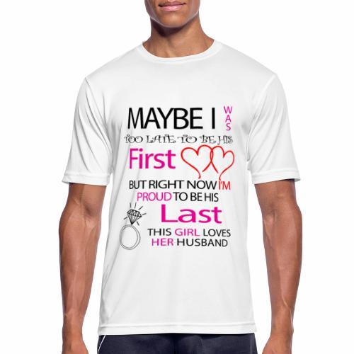 Ich liebe meinen Mann - Geschenkidee - Men's Breathable T-Shirt