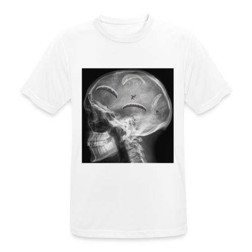 Paragliding im Kopf - Männer T-Shirt atmungsaktiv