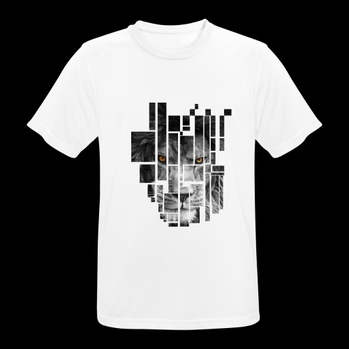 Pixel Lion Tattoo Inspire - Men's Breathable T-Shirt