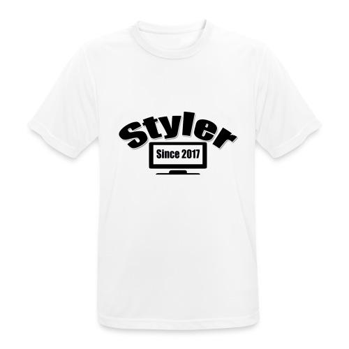 Styler Design T-Shirt Mannen - mannen T-shirt ademend