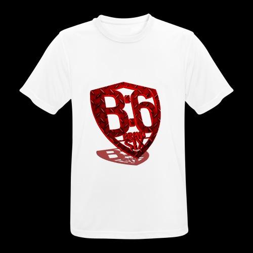BRAVOSIX 3D Redpoint - Männer T-Shirt atmungsaktiv