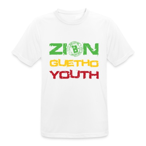 Zion Guetho Youth - Camiseta hombre transpirable