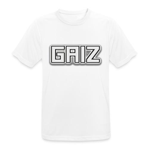 Gaiz-maglia bianca - Maglietta da uomo traspirante