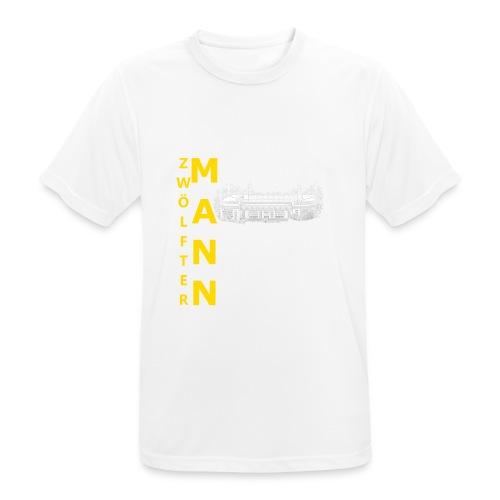 zwoelfter Mann1 - Männer T-Shirt atmungsaktiv