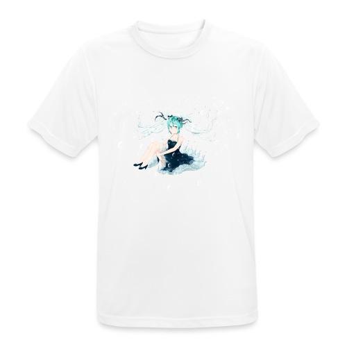 Water Miku O.C. - Maglietta da uomo traspirante