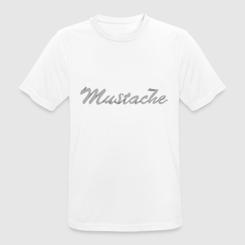 White Lettering - Men's Breathable T-Shirt