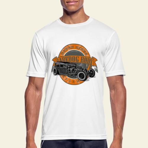 Raredog Rods Logo - Herre T-shirt svedtransporterende